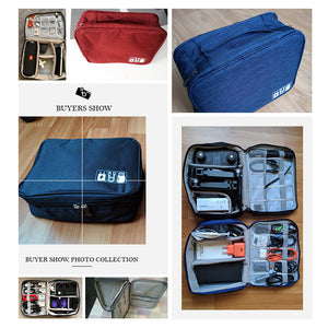 Portable Electronic &Accessories Storage Bags