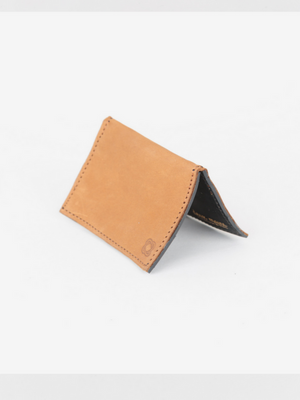 OKAP CARD HOLDER, COGNAC