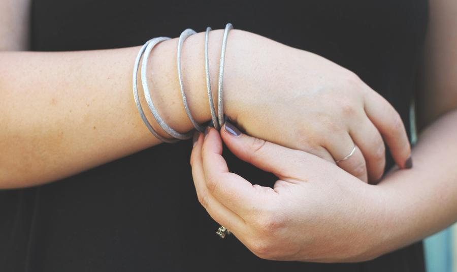 Aluminum Bangle Set