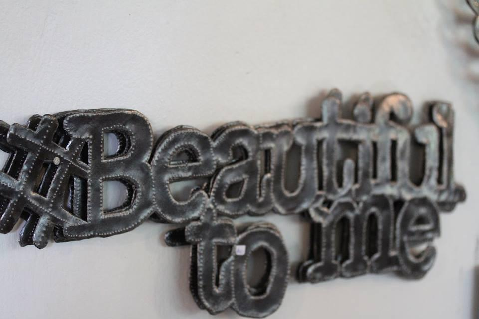 Beautiful to Me - 2SG Metal Art