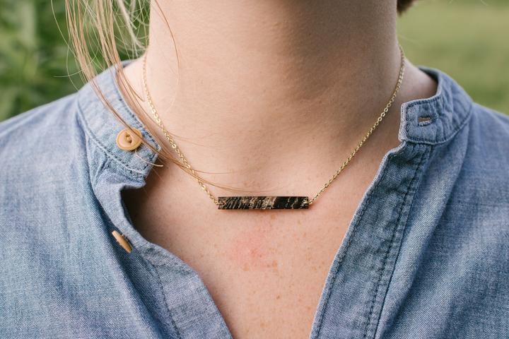 Betty Horn Necklace by Atelier Calla