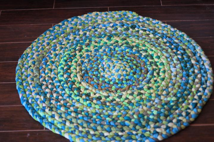 Braided Cotton Rug (Color Specific)