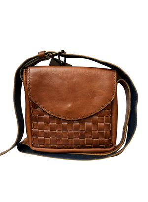 Crossbody Basket Weave Purse