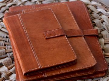 Dual Loading Leather Portfolio