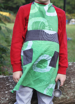 Green Child Apron