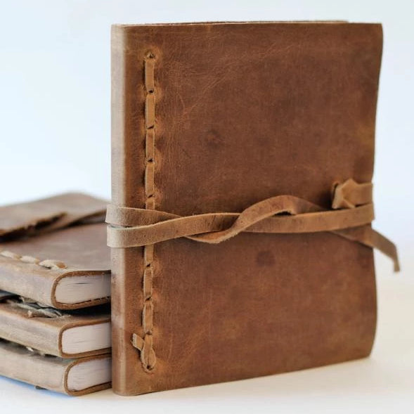 Leather Bound Journal - Medium