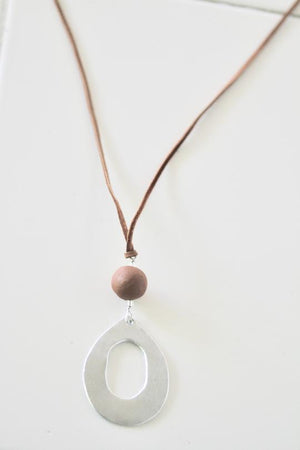 Plain Jane Necklace with Bead