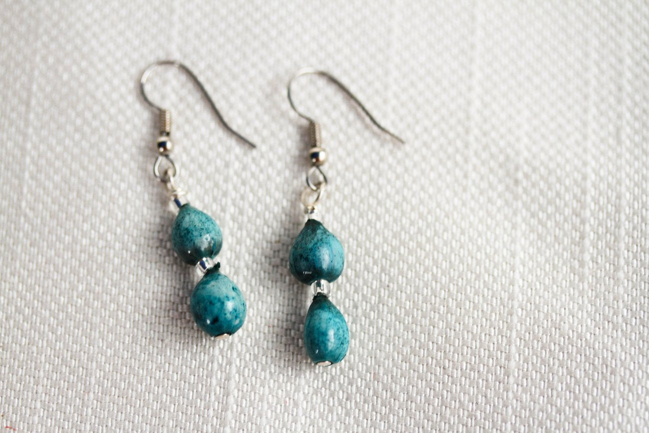 Turquoise Doublet Earring