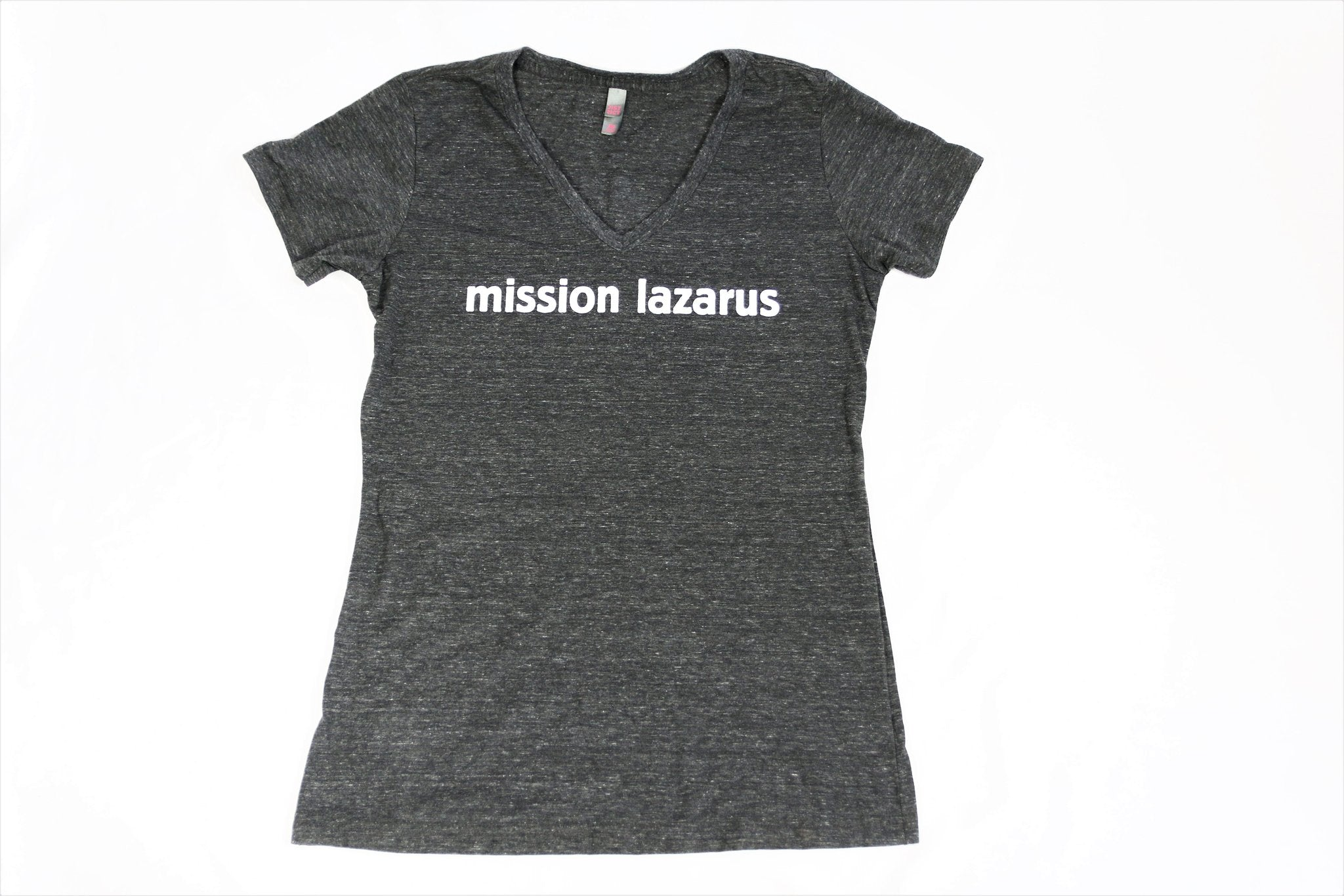 Mission Lazarus V-Neck Womens Tee