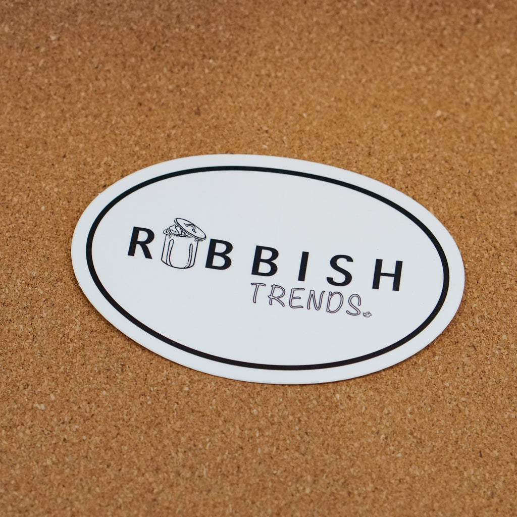 Rubbish Sticker