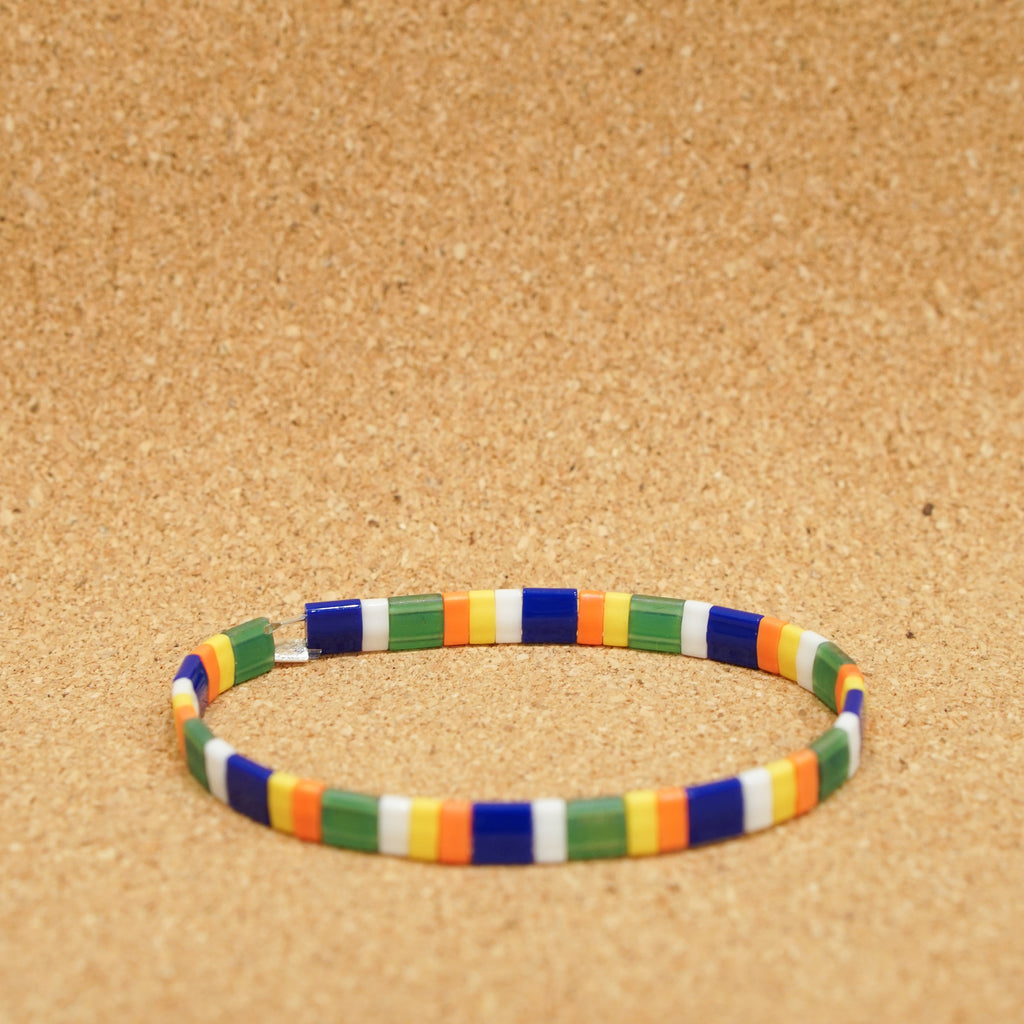 happy day - stretch tile bracelet