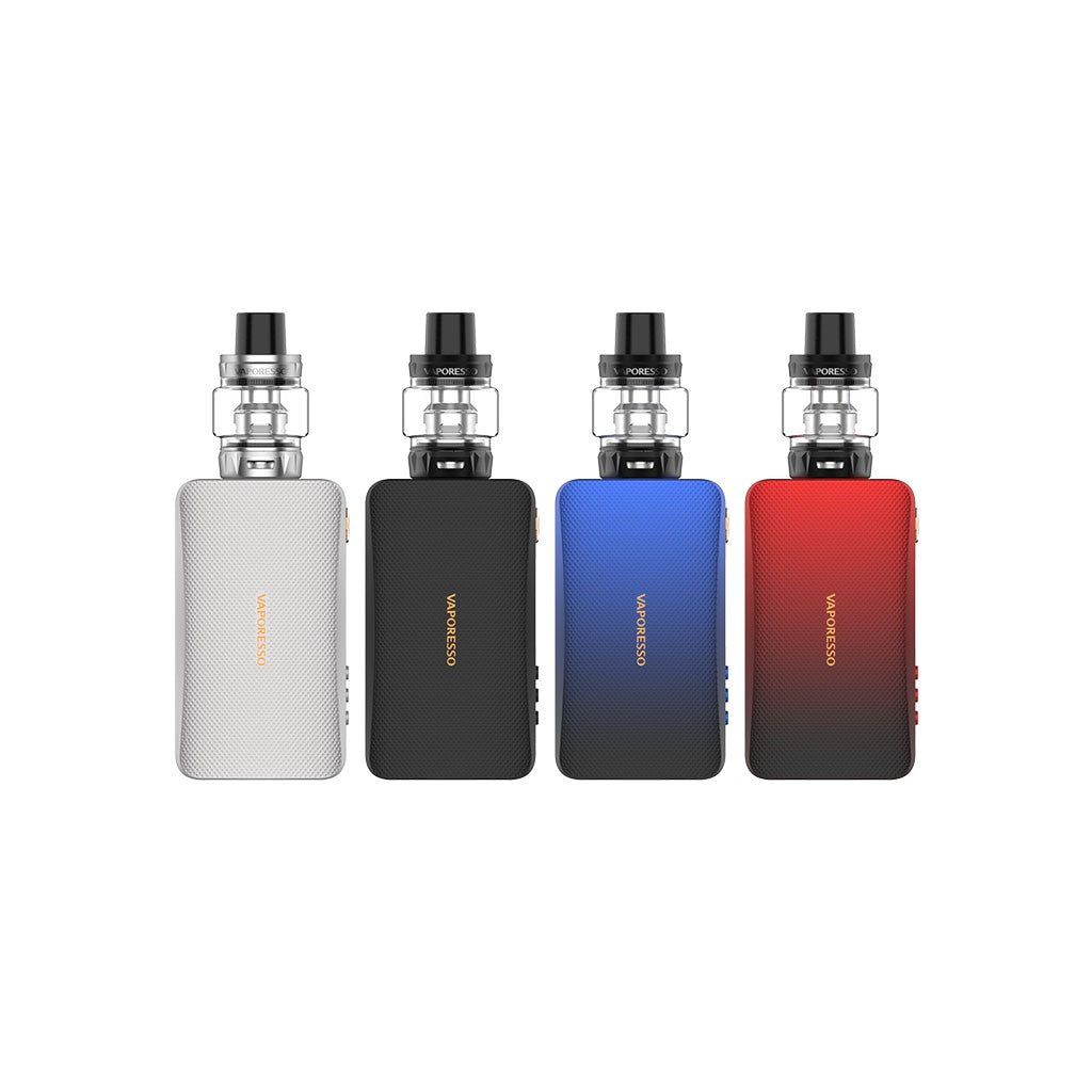 Vaporesso GEN TC Kit with SKRR-S 8ml QF Meshed/QF Strips-Black-ECOAO at ecoao