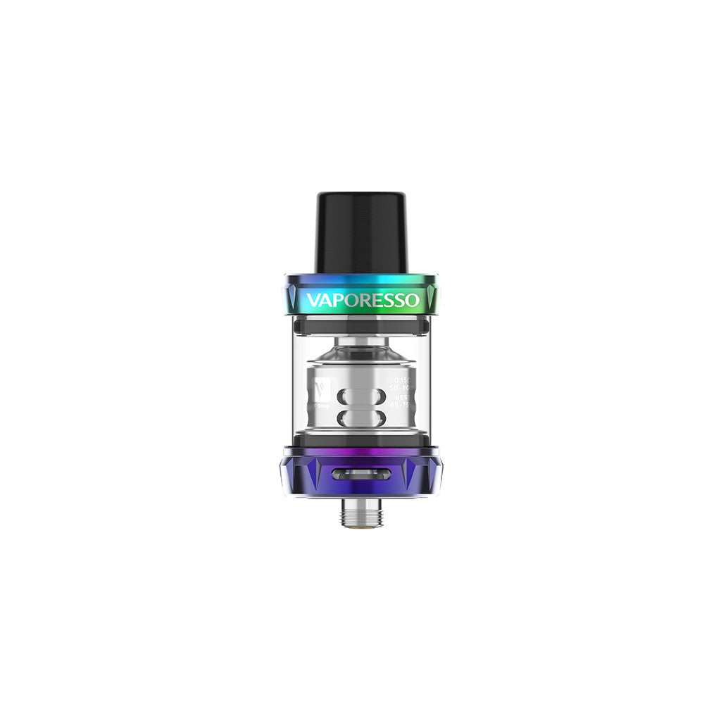 Vaporesso SKRR-S Mini 3.5ML tank QF Strips/QF Meshed-Rainbow-ECOAO at ecoao