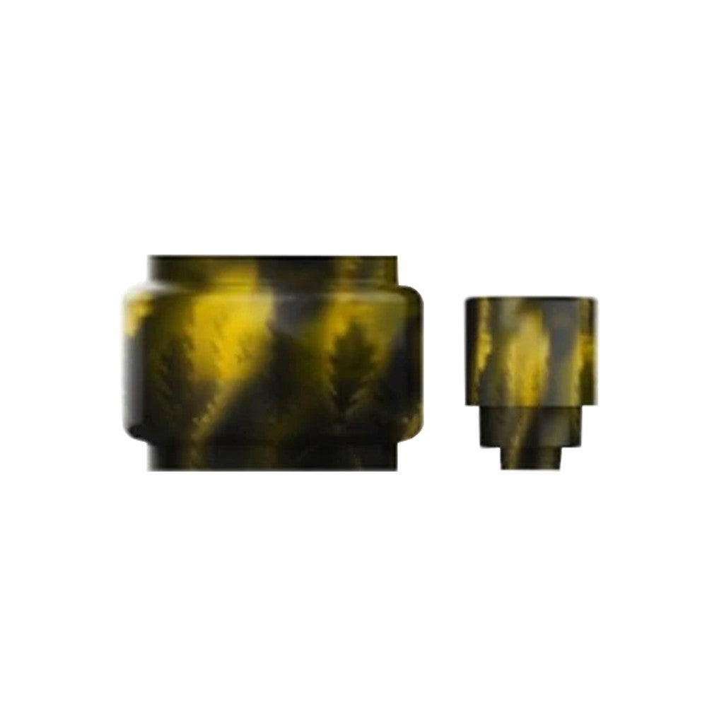 SKRR Resin Tube & Drip Tip-Yellow-ECOAO at ecoao