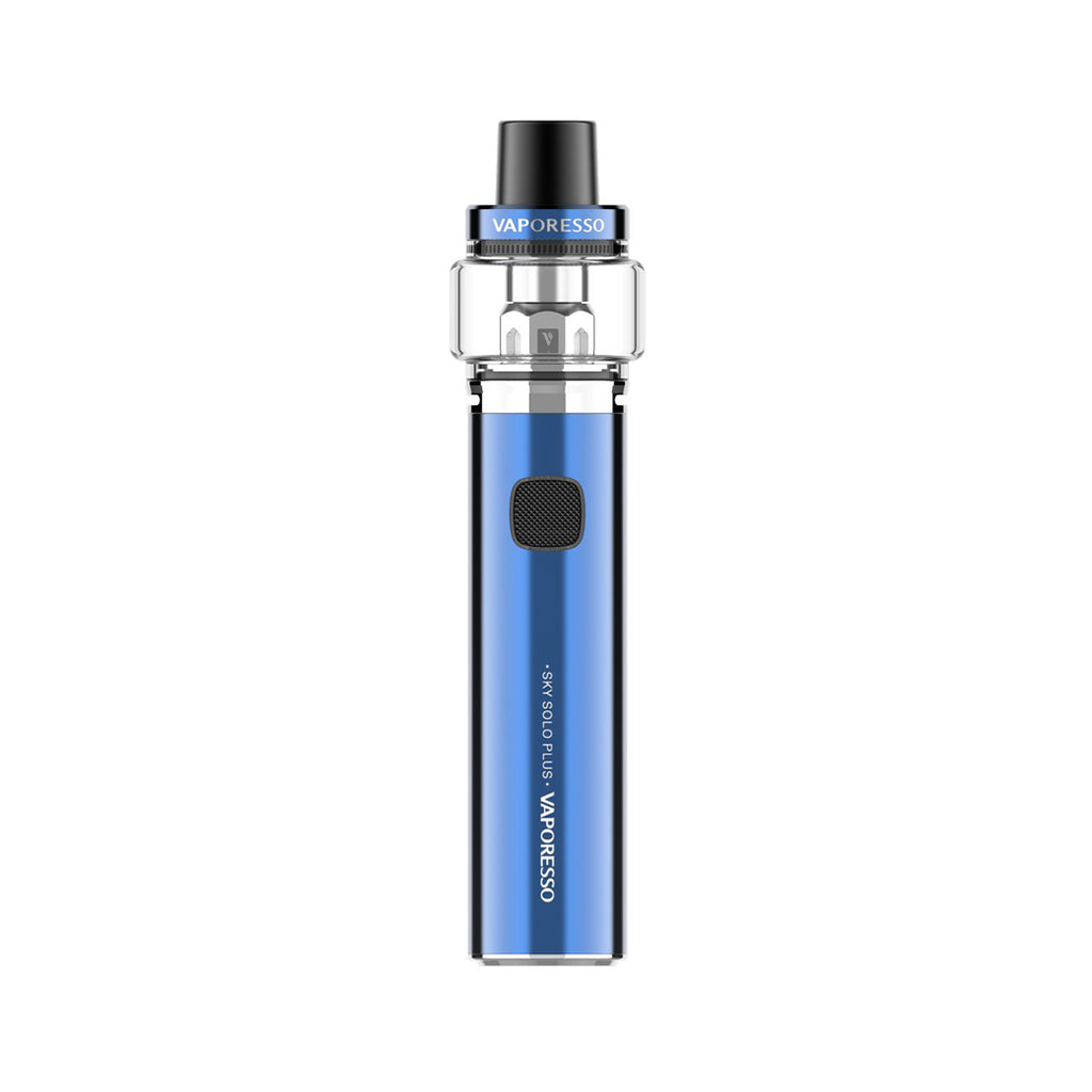 Vaporesso Sky Solo (Plus)Vape Pen AIO starter kit 1400mAh 3.5ml-Blue-8ml-ECOAO at ecoao