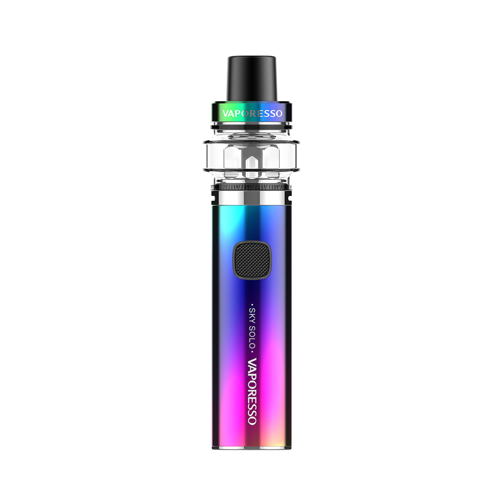 Vaporesso Sky Solo (Plus)Vape Pen AIO starter kit 1400mAh 3.5ml-Rainbow-3.5ml-ECOAO at ecoao