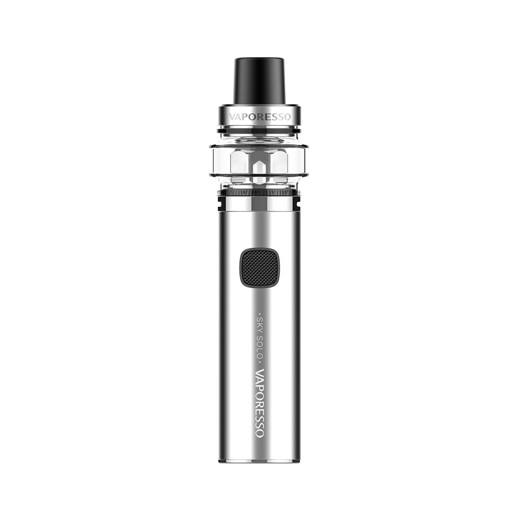 Vaporesso Sky Solo (Plus)Vape Pen AIO starter kit 1400mAh 3.5ml-Silver-3.5ml-ECOAO at ecoao