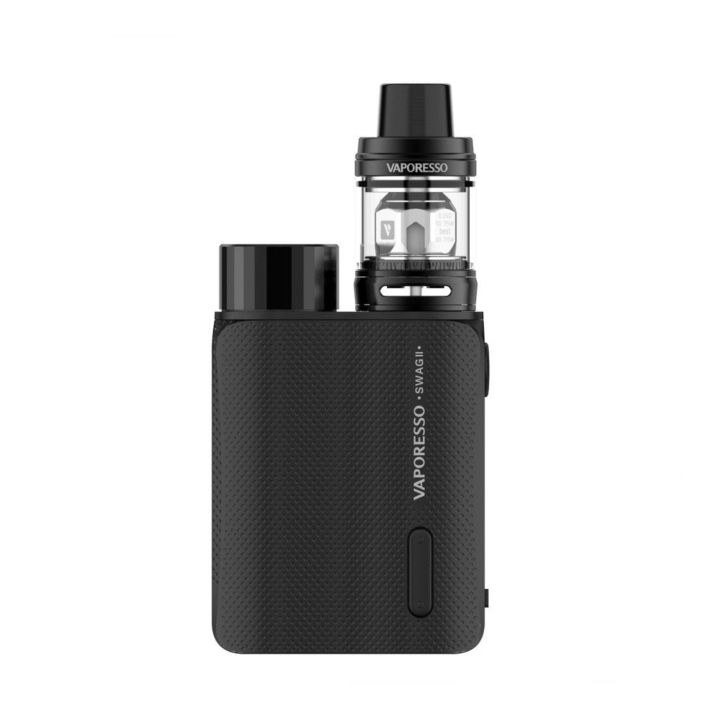 Vaporesso Swag II 80W Kit with 3.5ml NRG PE TANK-Black-ECOAO at ecoao