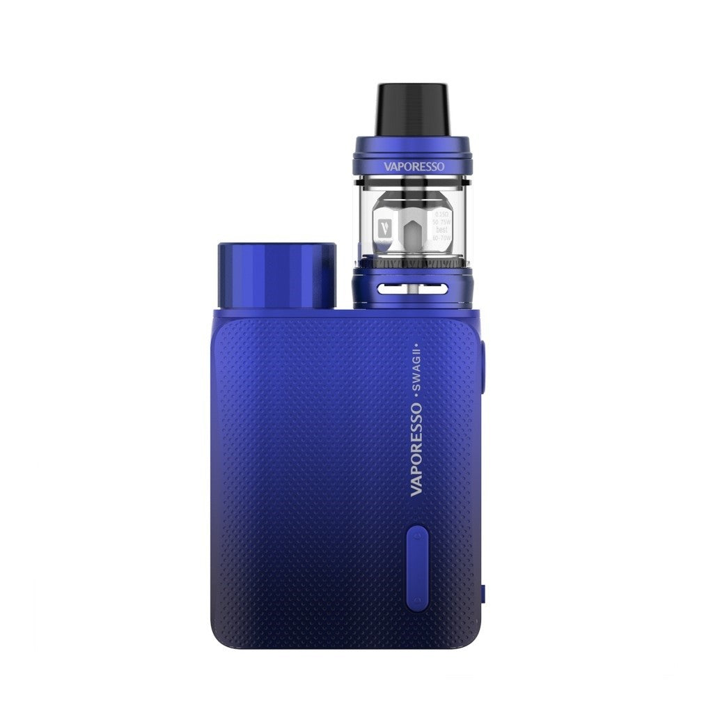 Vaporesso Swag II 80W Kit with 3.5ml NRG PE TANK-Blue-ECOAO at ecoao