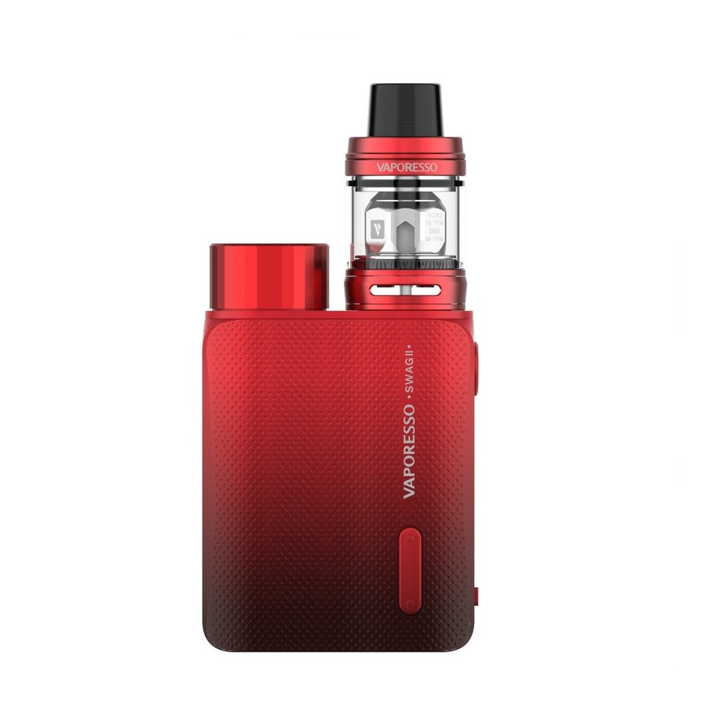 Vaporesso Swag II 80W Kit with 3.5ml NRG PE TANK-Red-ECOAO at ecoao