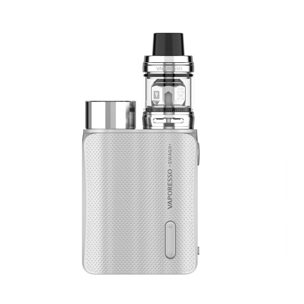 Vaporesso Swag II 80W Kit with 3.5ml NRG PE TANK-Silver-ECOAO at ecoao