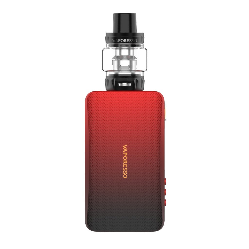Vaporesso GEN TC Kit with SKRR-S 8ml QF Meshed/QF Strips-Black Red-ECOAO at ecoao