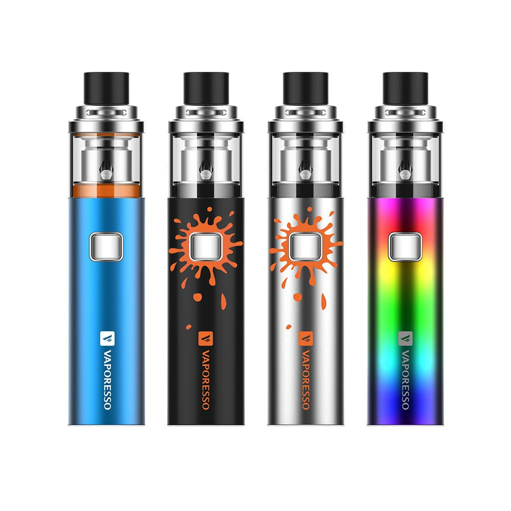 Vaporesso SOLO (Plus) Pen kit MTL/DTL 1500mAh/3300mAh-2ml-Black-ECOAO at ecoao