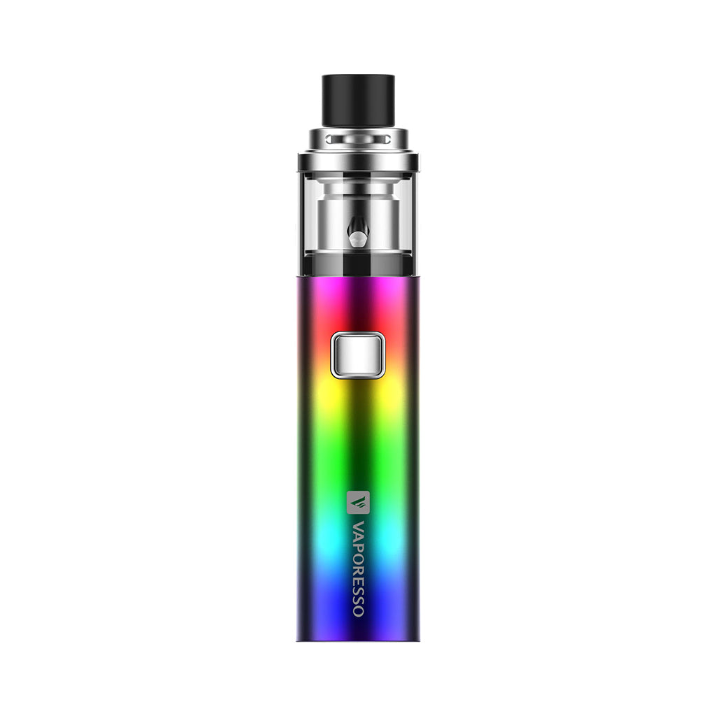 Vaporesso SOLO (Plus) Pen kit MTL/DTL 1500mAh/3300mAh-2ml-Rainbow-ECOAO at ecoao