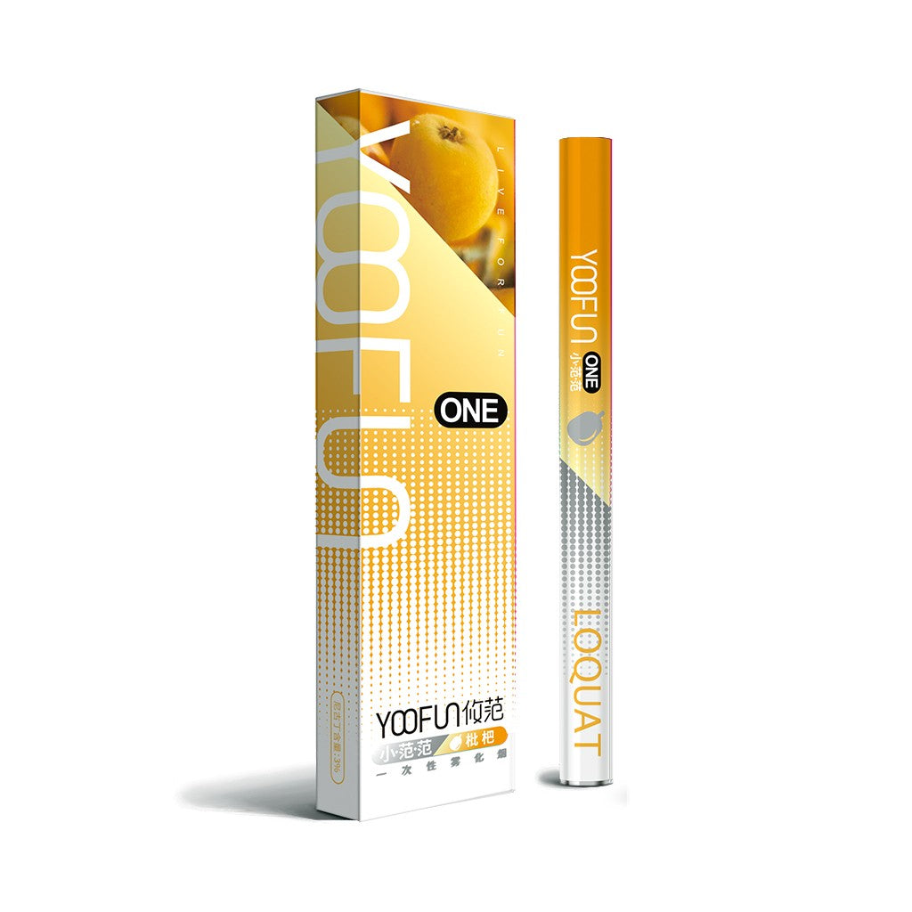 YOOFUN ONE Pre-filled Disposable starter kit 320mAh-Loquat-ECOAO at ecoao