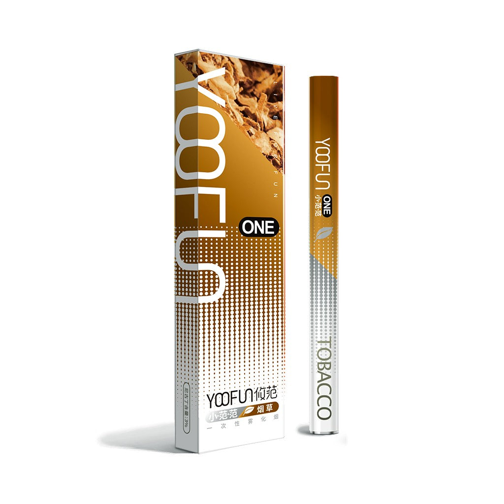 YOOFUN ONE Pre-filled Disposable starter kit 320mAh-Tobacco-ECOAO at ecoao