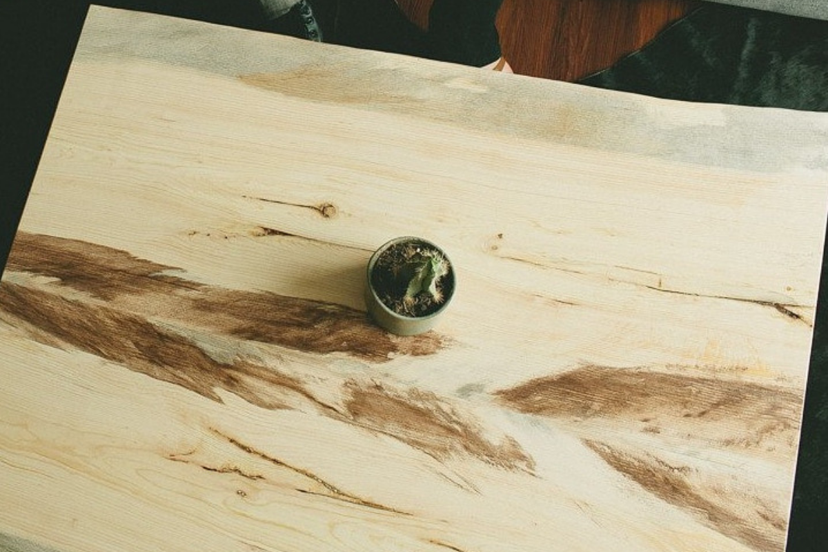 The San Luis Coffee Table | Beetle Kill Pine