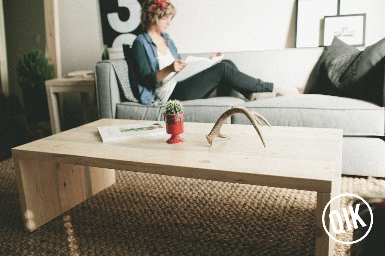 The Belford Coffee Table | Beetle Kill Pine