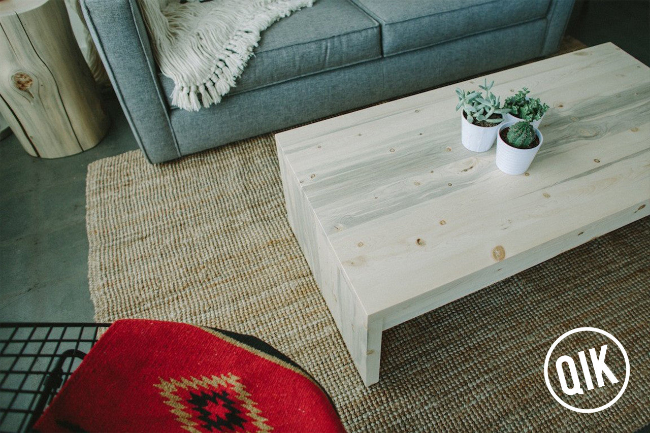 The Belford Coffee Table + Drawer
