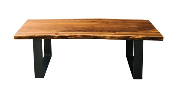 "The Eolus Coffee Table | ""Modern Rustic"" Walnut"