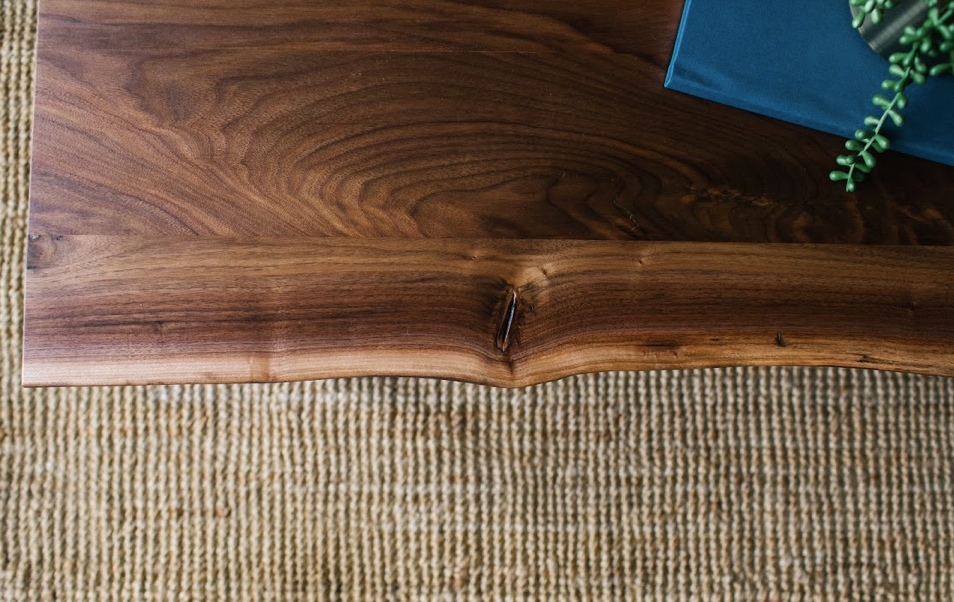 The Eolus Coffee Table | Rustic Walnut