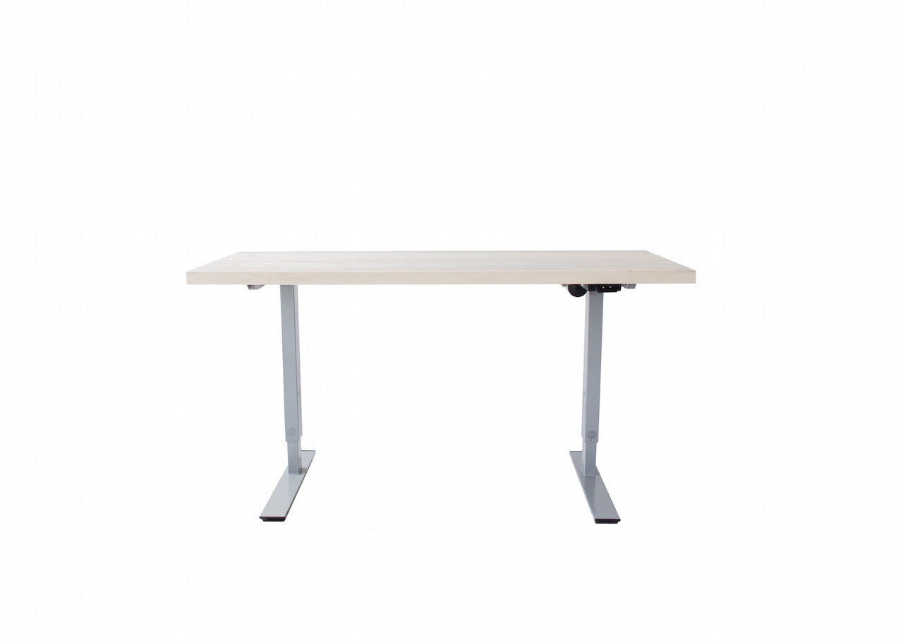 The Oxford Height-Adjustable Desk | Beetle Kill Pine