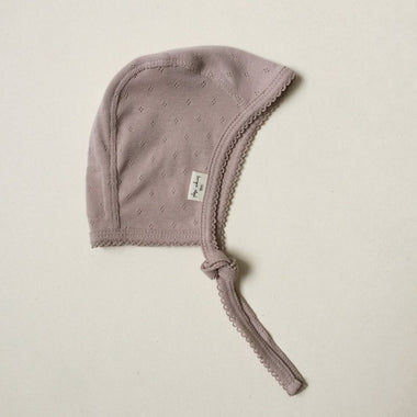 Konges Sløjd newborn muts - Rose Grey