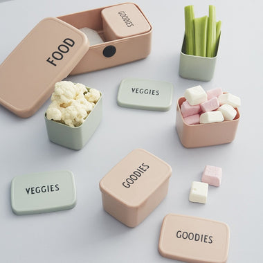 Design Letters Snack Box Goodies | Nude