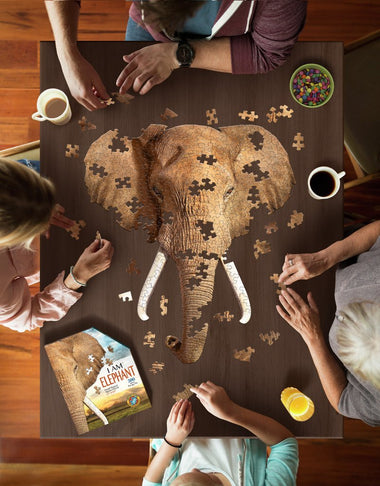 Madd Capp I Am Lil' Puzzel 700st Elephant