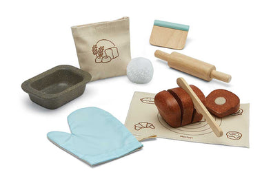 Plantoys houten Brood Bak Set