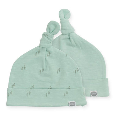 Jollein babymuts 0-6m set van 2 | Forest Green