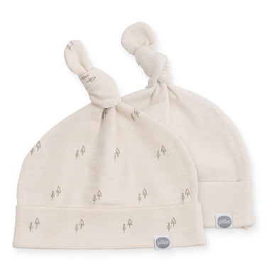 Jollein babymuts 0-6m set van 2 | Forest Off White