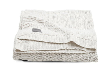 Jollein Deken 75x100cm | River Knit Cream White