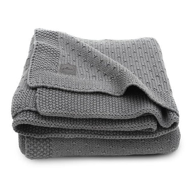 Jollein Deken 75x100cm | Bliss Knit Storm Grey