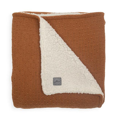 Jollein Deken 75x100cm Fleece | Bliss Knit Caramel