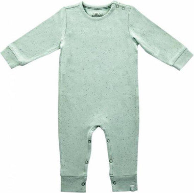 Jollein Playsuit Organic - Mini dots Stone Green