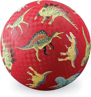 Crocodile Creek Playball 18cm kleine voetbal | Dino Red