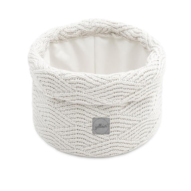 Jollein Opbergmandje River Knit Cream White
