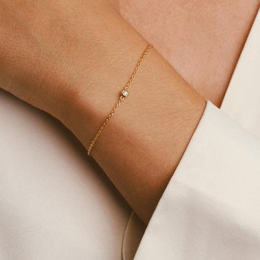 Galore Armband Single Diamond | Gold Women