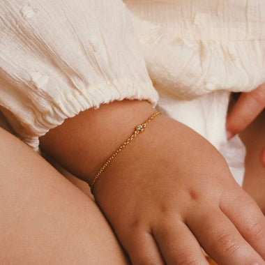 Galore Armband Single Diamond | Gold Petit